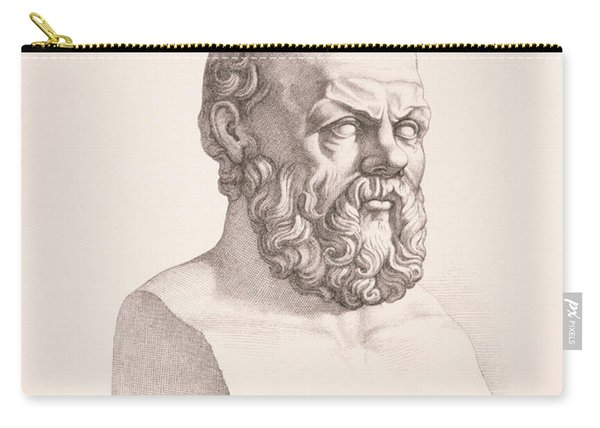 Portrait Of Socrates Carry-all Pouch