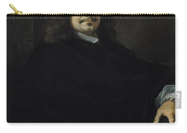 Portrait Presumed To Be Rene Descartes Carry-all Pouch