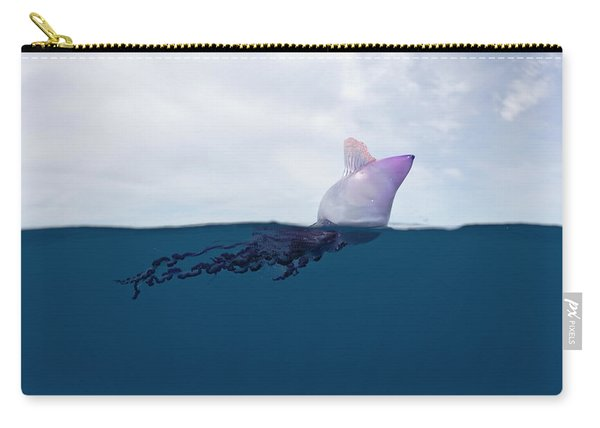 Portuguese Man Of War, Physalia Carry-all Pouch