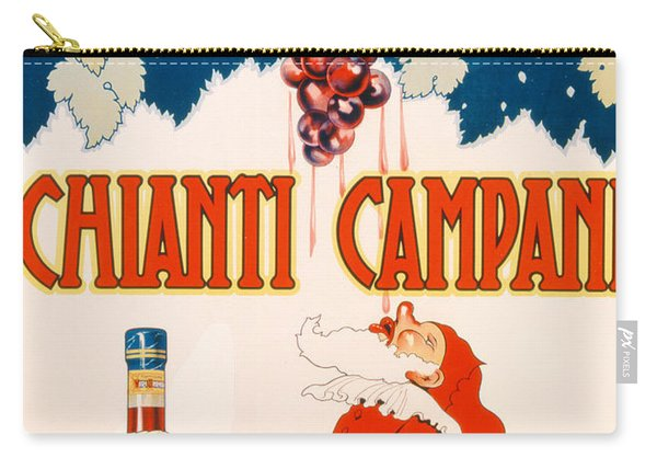 Poster Advertising Chianti Campani Carry-all Pouch