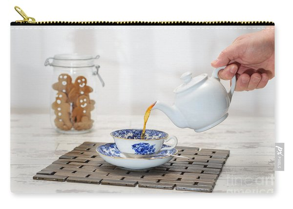 Pouring A Cup Of Tea Carry-all Pouch