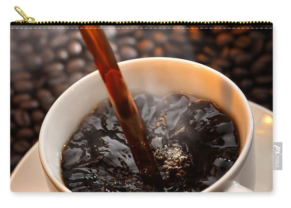 Pouring Coffee Carry-all Pouch