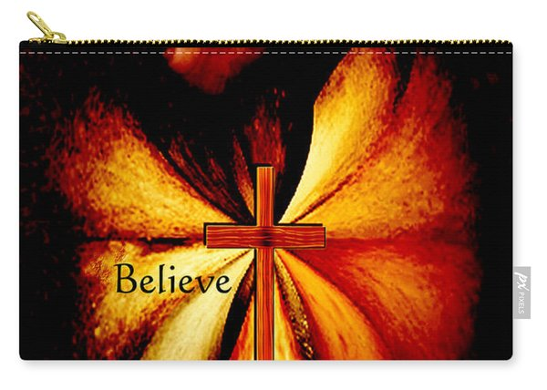 Power Of Prayer Believe Carry-all Pouch