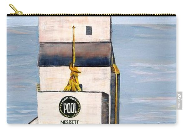 Prairie Icon - Manitoba Pool Elevator Carry-all Pouch