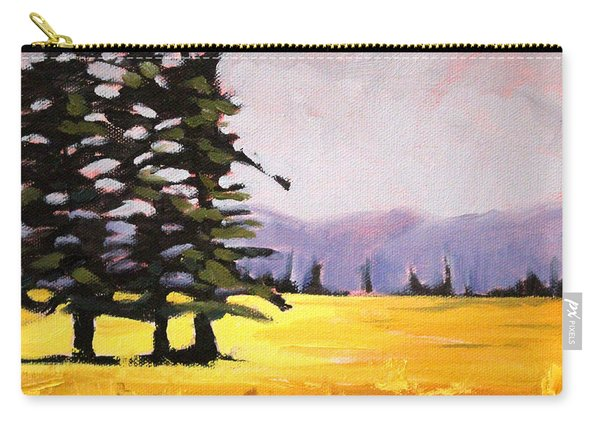 Prairie Pines Carry-all Pouch