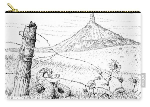 Prairie Rattler Carry-all Pouch