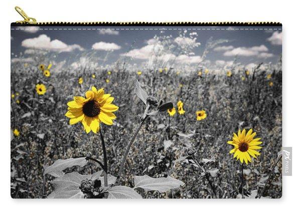Prairie Sunflowers  Carry-all Pouch