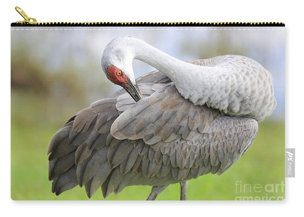 Preener Sandhill Crane Carry-all Pouch
