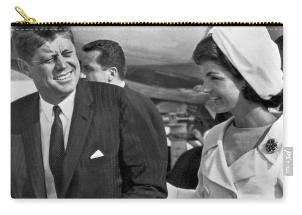 President And Mrs. Kennedy Carry-all Pouch