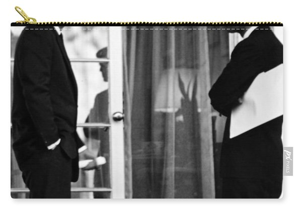 President John Kennedy And Robert Kennedy Carry-all Pouch