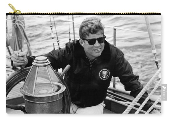 President John Kennedy Sailing Carry-all Pouch