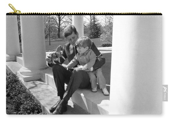 President Kennedy And John-john Carry-all Pouch