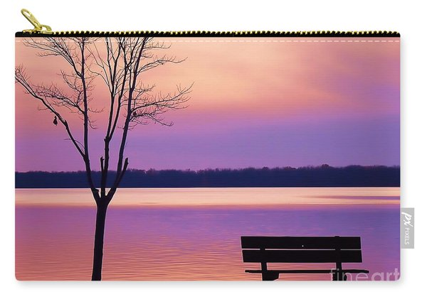Presque Isle Solitude 11.12.12 Carry-all Pouch