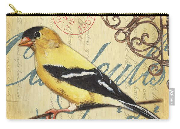 Pretty Bird 3 Carry-all Pouch