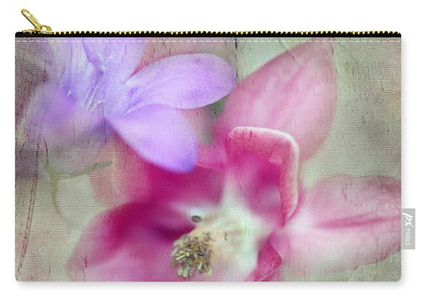 Pretty Flowers Carry-all Pouch