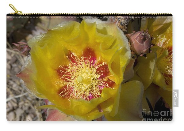 Prickly Pear Flower, Big Bend National Carry-all Pouch