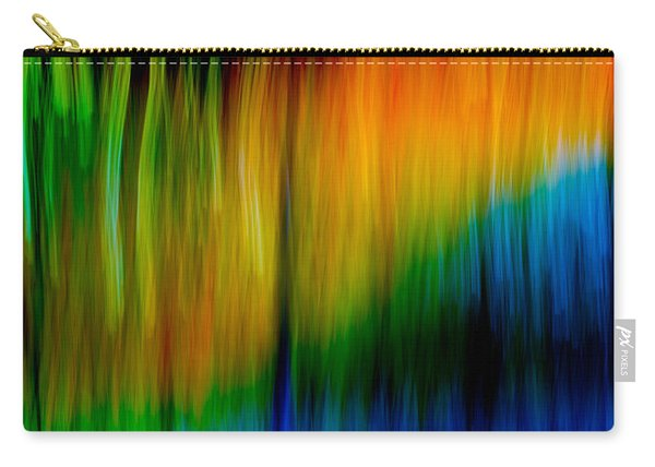 Primary Rainbow Carry-all Pouch