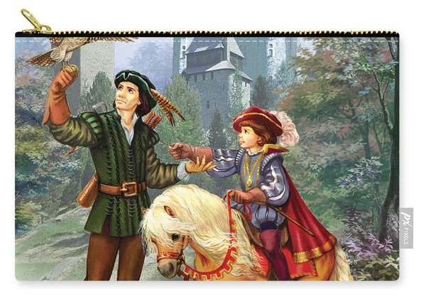Prince And Falconer Carry-all Pouch
