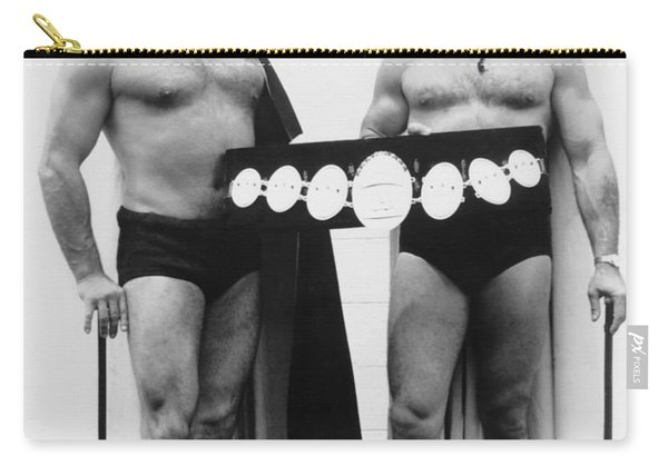 Pro Wrestlers Portrait Carry-all Pouch