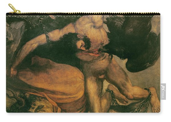 Prometheus Oil On Canvas Carry-all Pouch