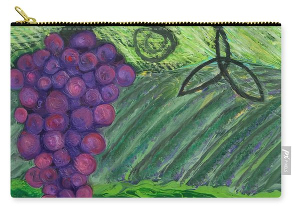 Prophetic Message Sketch 18 Vineyard Infinity Trinity Carry-all Pouch