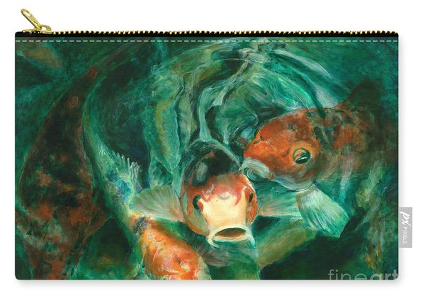 Prosperity Koi Carry-all Pouch