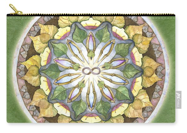 Prosperity Mandala Carry-all Pouch