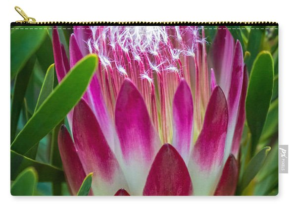 Protea In Pink Carry-all Pouch