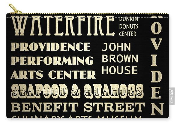 Providence Rhode Island Famous Landmarks Carry-all Pouch