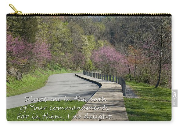 Psalm 119 Direct Me In The Path Carry-all Pouch