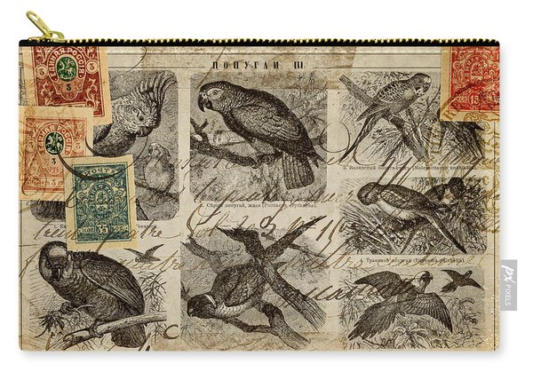 Psittacus Carry-all Pouch