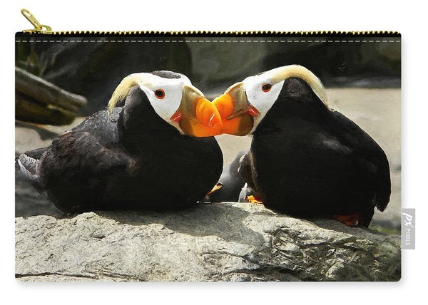 Puffin Friends 2 Carry-all Pouch