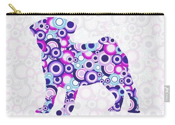 Pug - Animal Art Carry-all Pouch