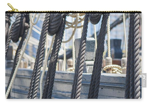 Pulley And Stay Carry-all Pouch