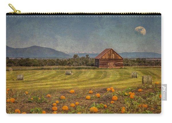 Pumpkin Field Moon Shack Carry-all Pouch