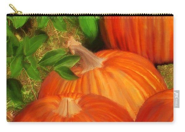 Pumpkins Pumpkins Everywhere Carry-all Pouch
