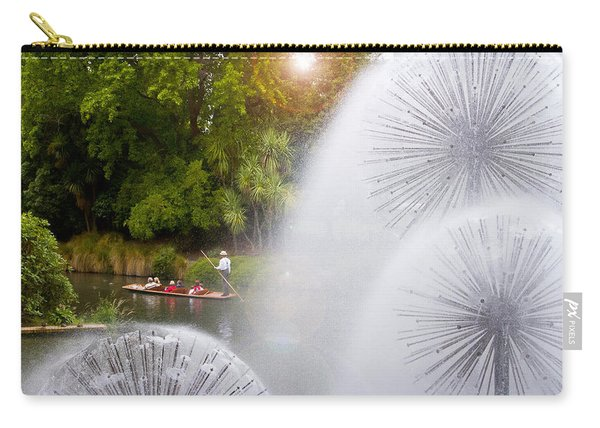 Punting On The Avon Carry-all Pouch