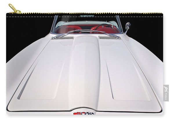 Pure Enjoyment - 1964 Corvette Stingray Carry-all Pouch