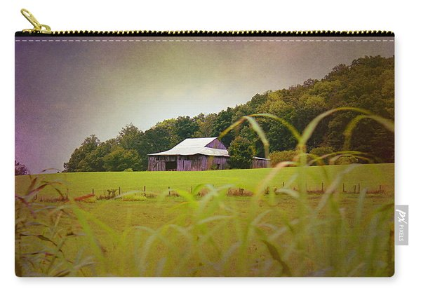 Purple Barn Carry-all Pouch