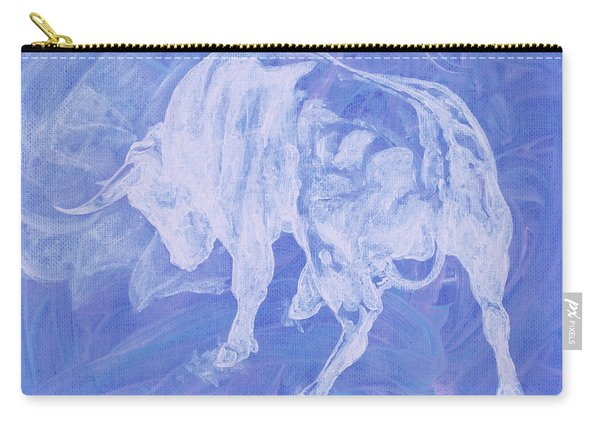 Purple Bull Negative Carry-all Pouch
