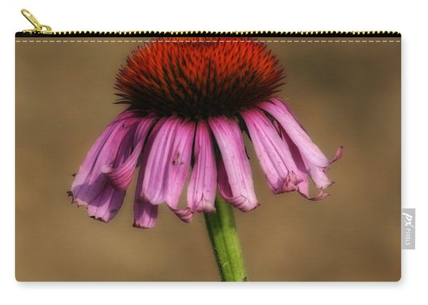 Purple Coneflower Carry-all Pouch
