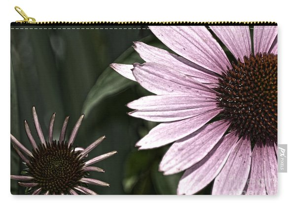 Purple Coneflower Imperfection Carry-all Pouch