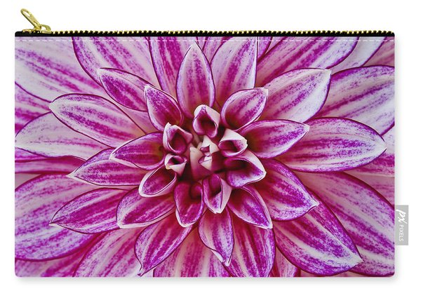 Purple Dahlia Carry-all Pouch