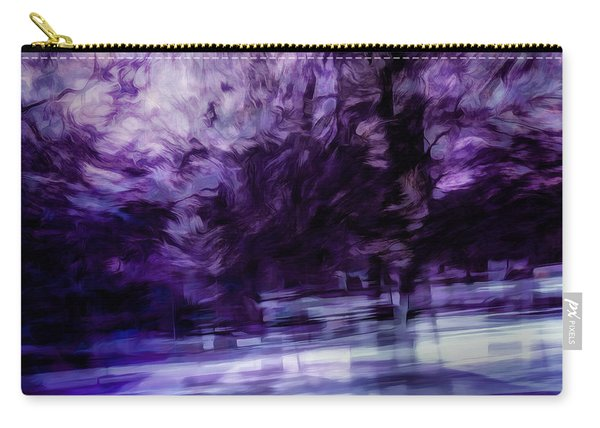 Purple Fire Carry-all Pouch