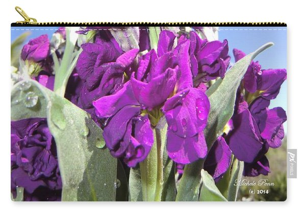 Purple Glow 2 Carry-all Pouch