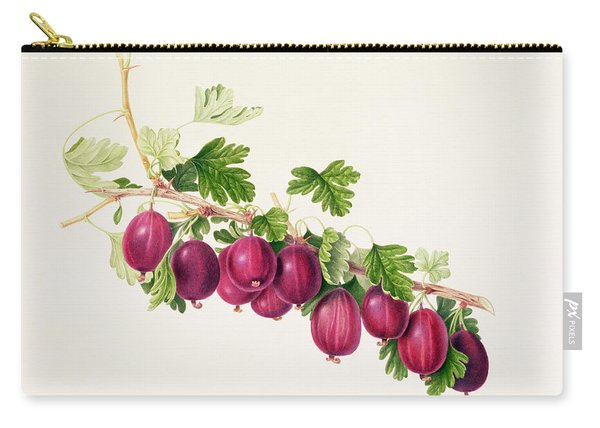 Purple Gooseberry Carry-all Pouch