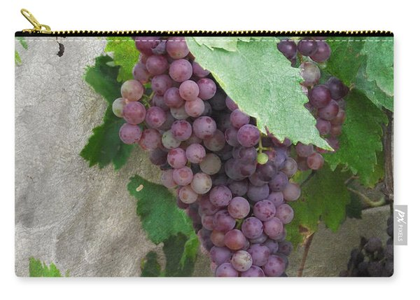 Purple Grapes On The Vine Carry-all Pouch