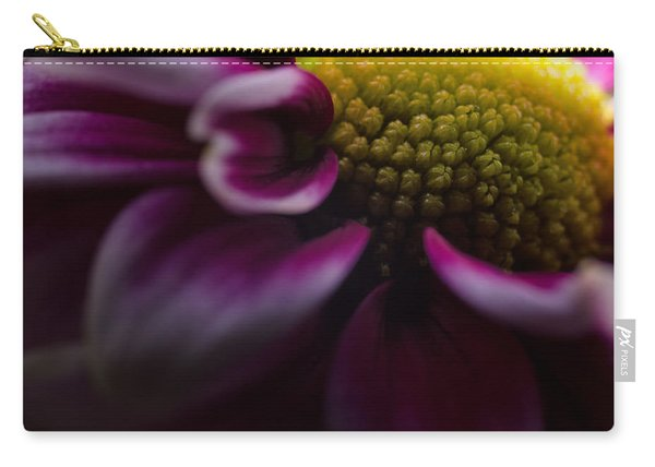 Purple Mum Macro Carry-all Pouch
