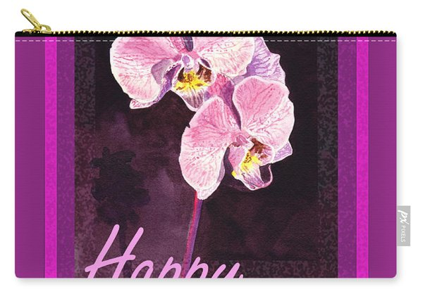 Purple Valentine Carry-all Pouch
