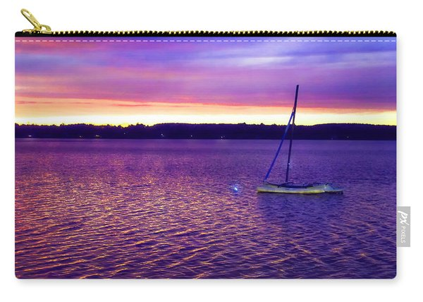Purple Waters  Carry-all Pouch